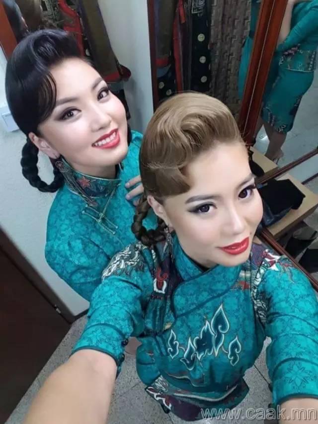 美丽的蒙古女孩 漂亮的蒙古服饰 第16张