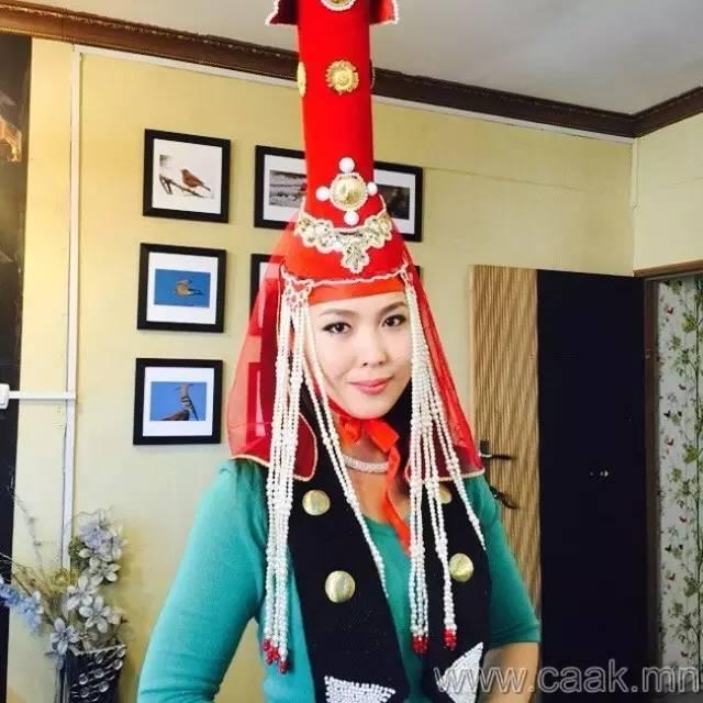 美丽的蒙古女孩 漂亮的蒙古服饰 第15张