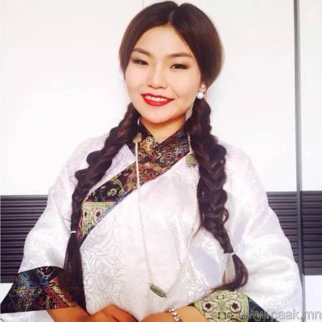 美丽的蒙古女孩 漂亮的蒙古服饰 第31张