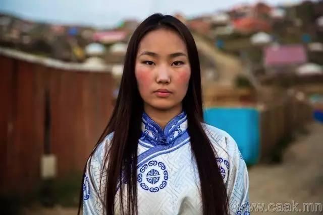 美丽的蒙古女孩 漂亮的蒙古服饰 第26张
