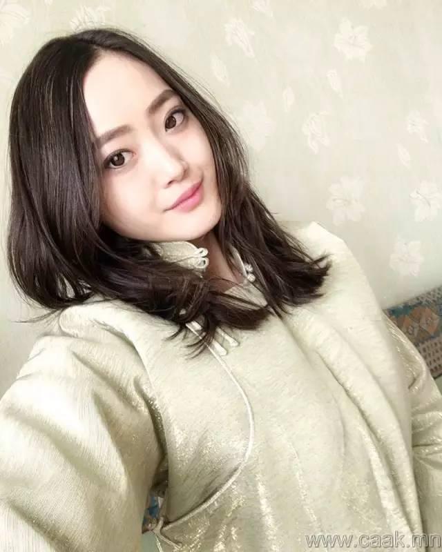 美丽的蒙古女孩 漂亮的蒙古服饰 第28张