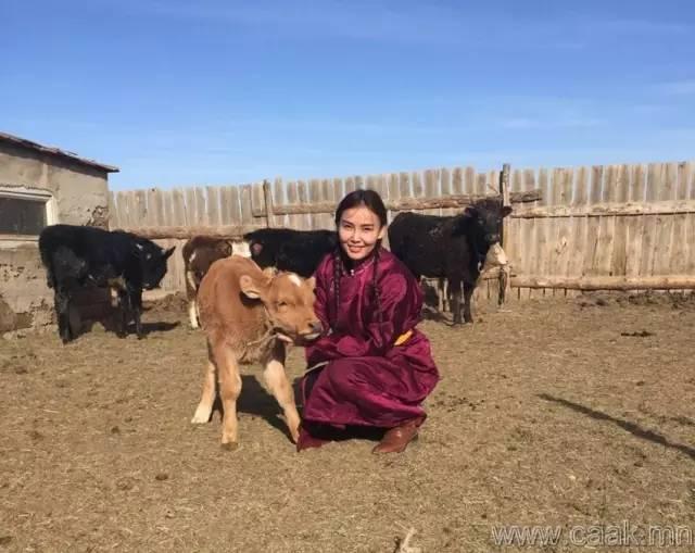 美丽的蒙古女孩 漂亮的蒙古服饰 第29张