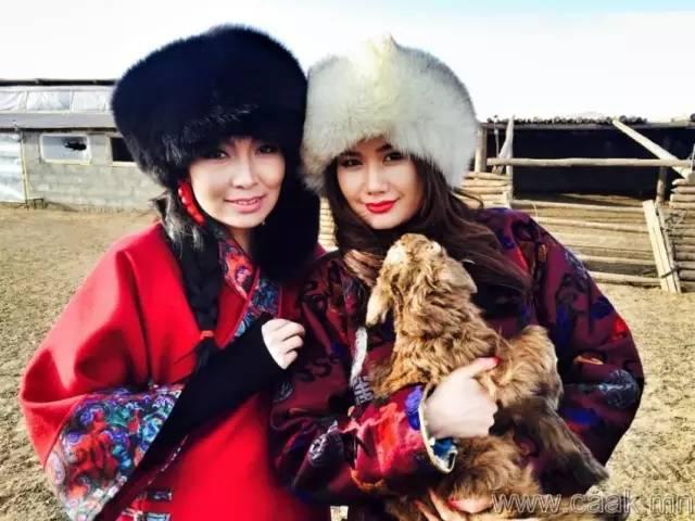 美丽的蒙古女孩 漂亮的蒙古服饰 第33张