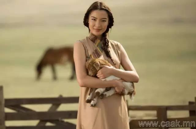 美丽的蒙古女孩 漂亮的蒙古服饰 第38张