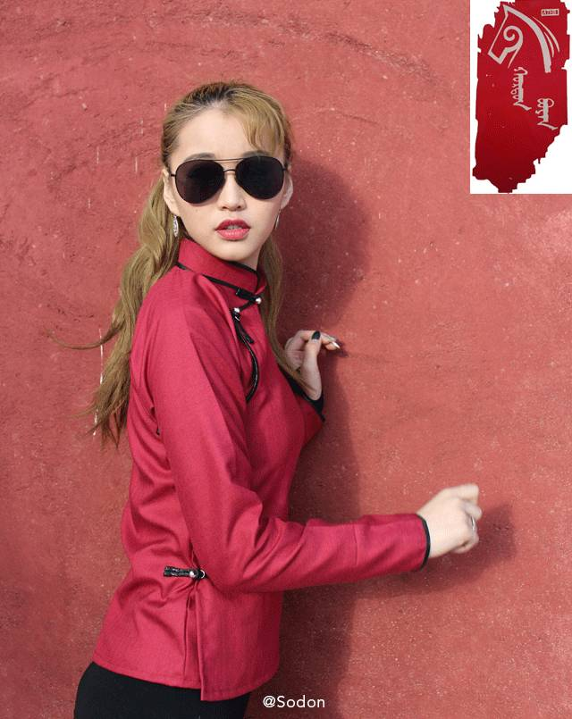 HurdanBuyan 蒙古服饰系列,最时尚蒙古风 ... 第4张