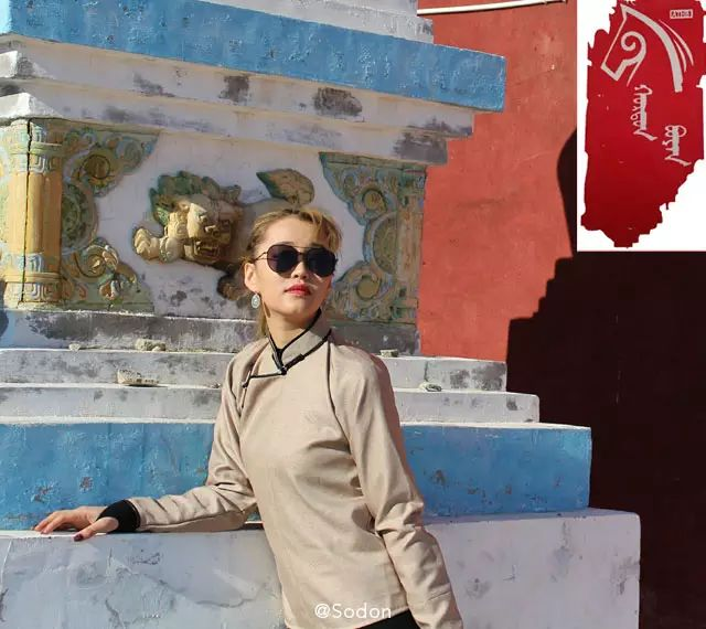 HurdanBuyan 蒙古服饰系列,最时尚蒙古风 ... 第8张