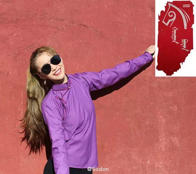 HurdanBuyan 蒙古服饰系列,最时尚蒙古风 ... 第7张