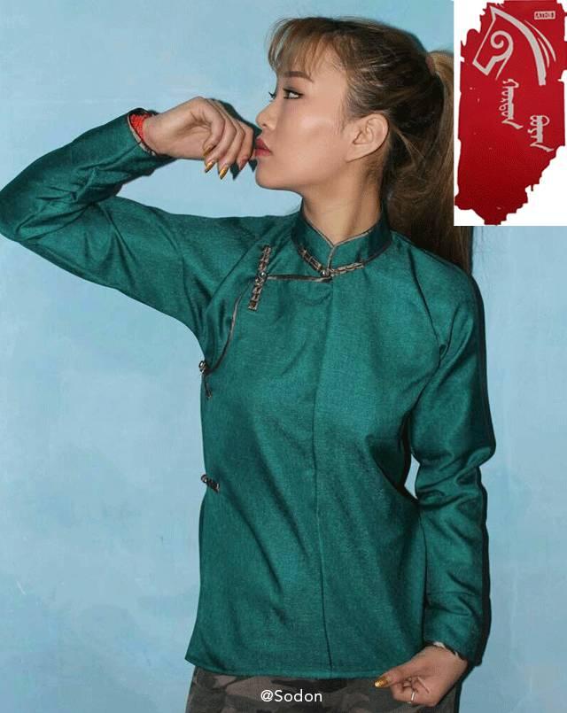 HurdanBuyan 蒙古服饰系列,最时尚蒙古风 ... 第12张