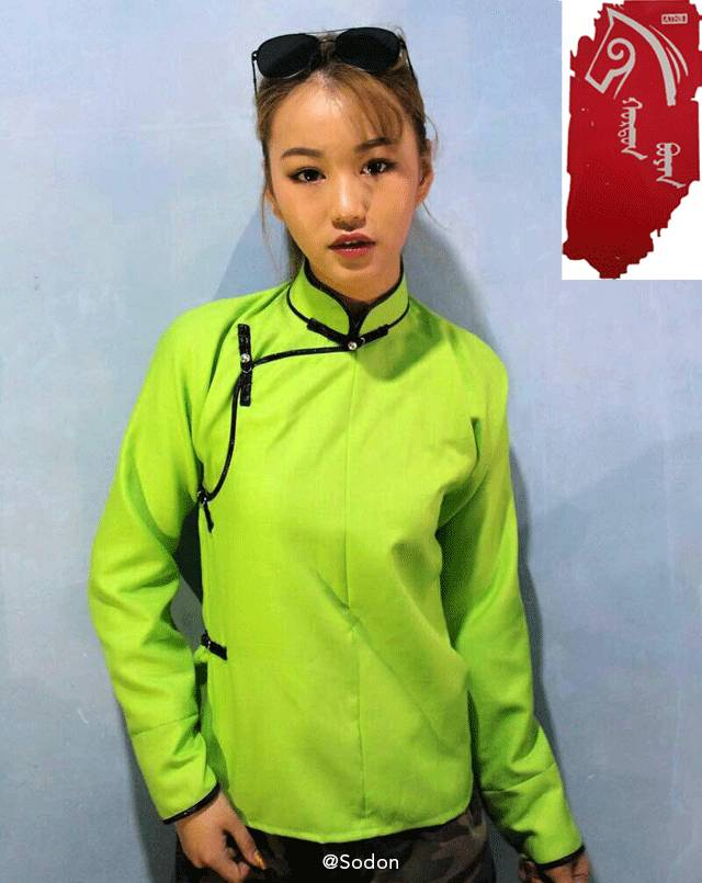 HurdanBuyan 蒙古服饰系列,最时尚蒙古风 ... 第16张