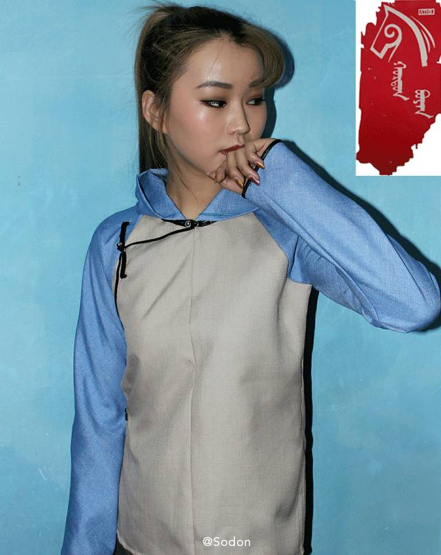 HurdanBuyan 蒙古服饰系列,最时尚蒙古风 ... 第18张
