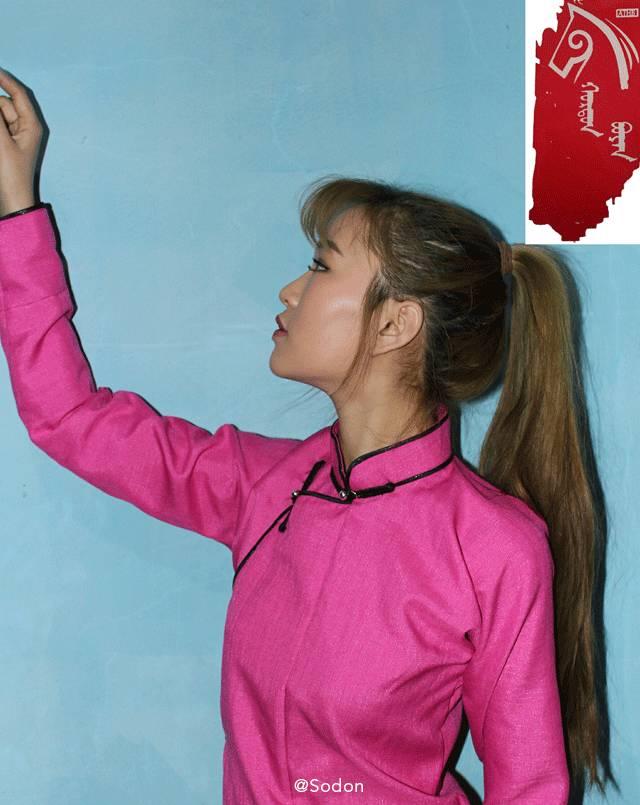 HurdanBuyan 蒙古服饰系列,最时尚蒙古风 ... 第15张