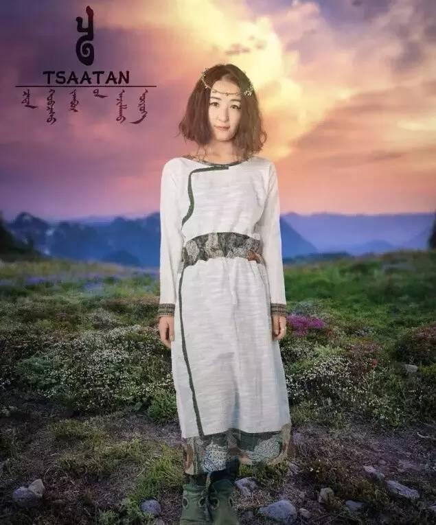 【蒙古服装】蒙古族美女设计师和她的创意作品 第3张
