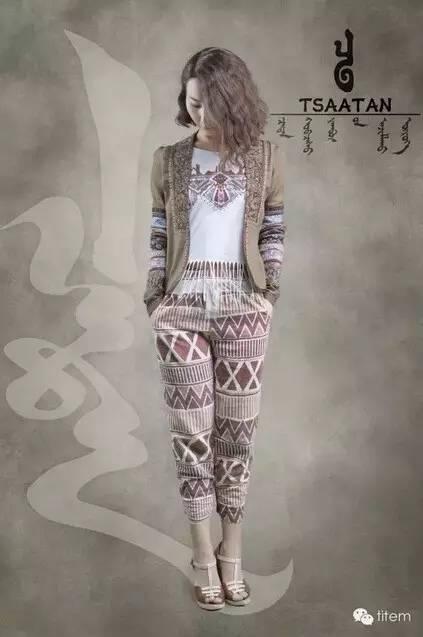 【蒙古服装】蒙古族美女设计师和她的创意作品 第2张