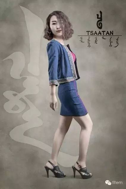 【蒙古服装】蒙古族美女设计师和她的创意作品 第7张