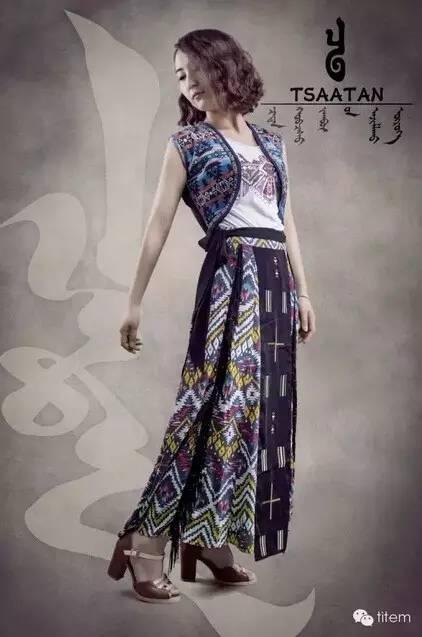 【蒙古服装】蒙古族美女设计师和她的创意作品 第8张