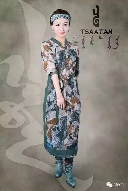 【蒙古服装】蒙古族美女设计师和她的创意作品 第9张