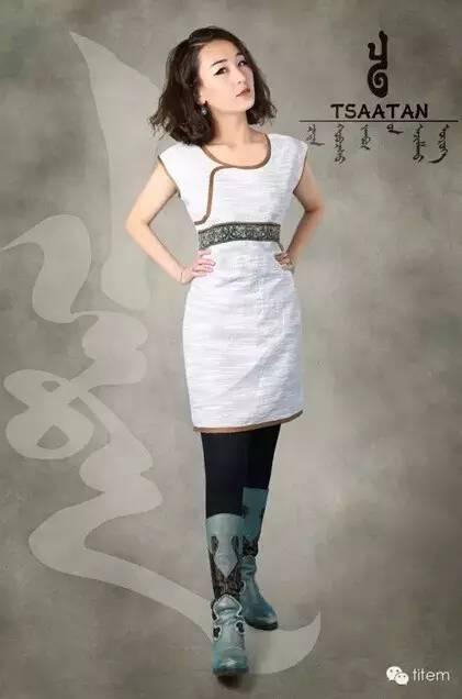 【蒙古服装】蒙古族美女设计师和她的创意作品 第11张