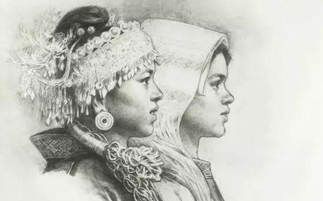 设计第三套、第四套人民币蒙古族画家 第8张
