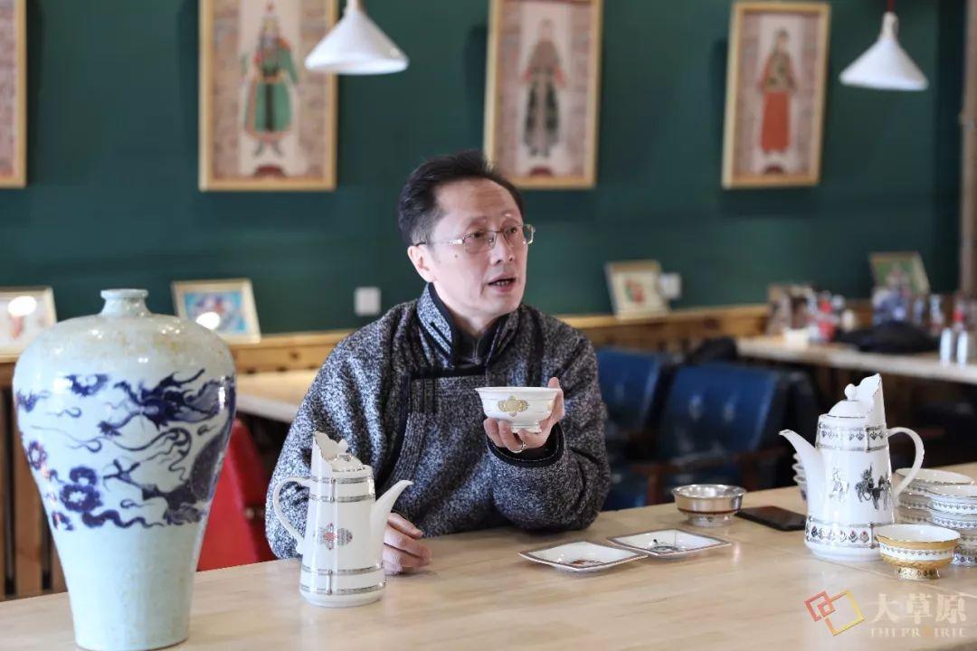 蒙古族特色瓷器如何兼具功能性和审美性?听设计师细细道来 第4张