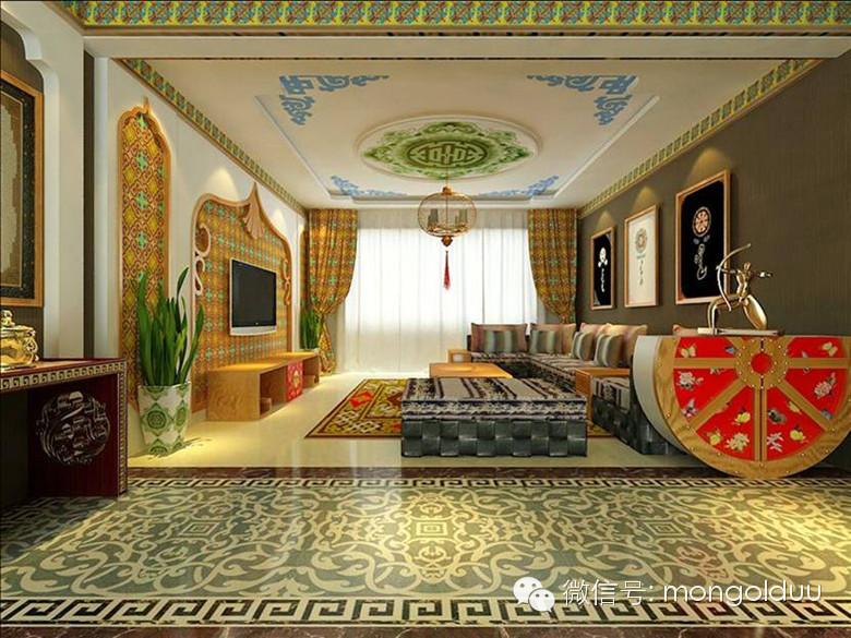 蒙古装修风格图片 第17张