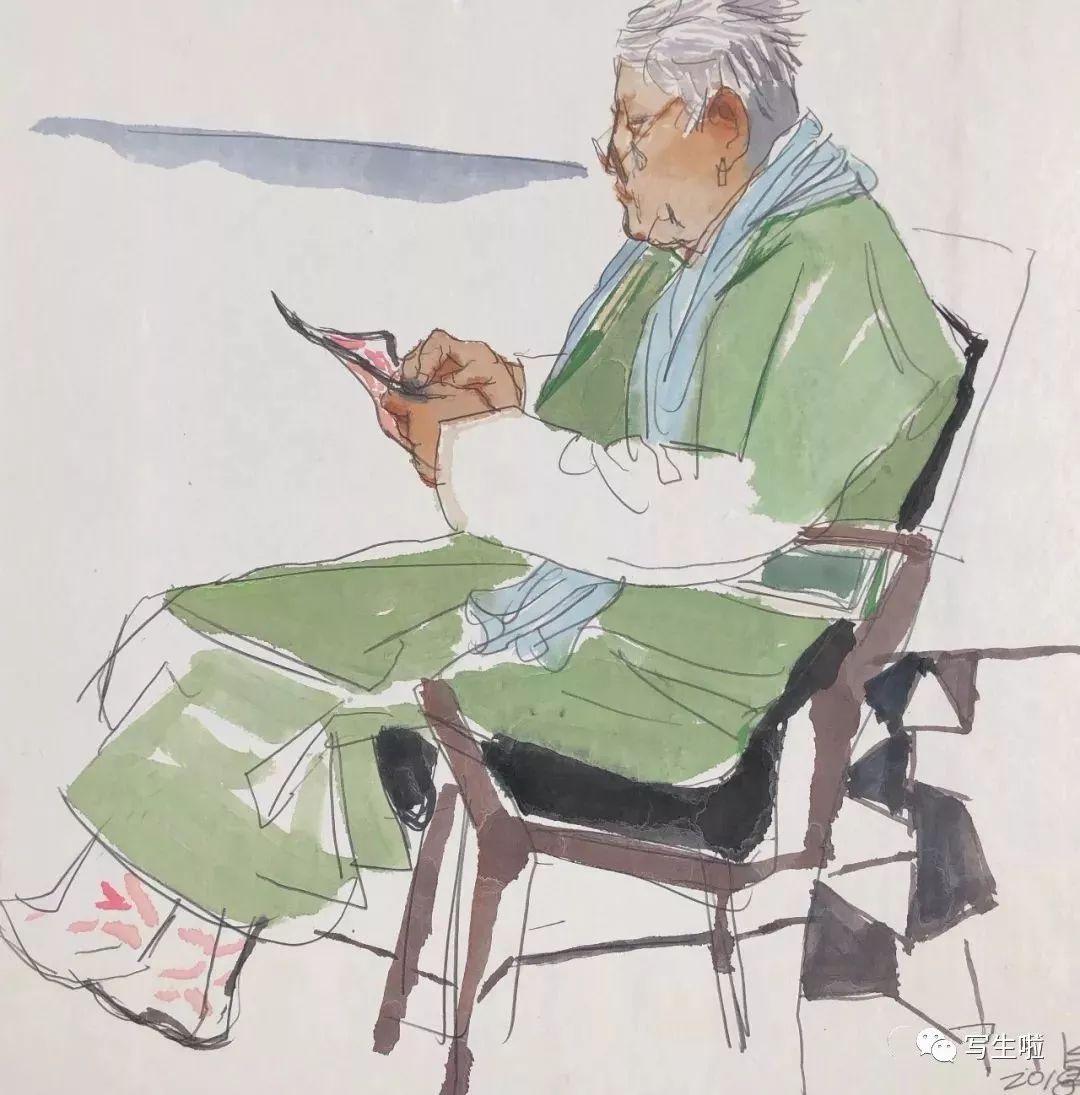【写生啦】国美教授周刚内蒙古最新写生作品 第9张
