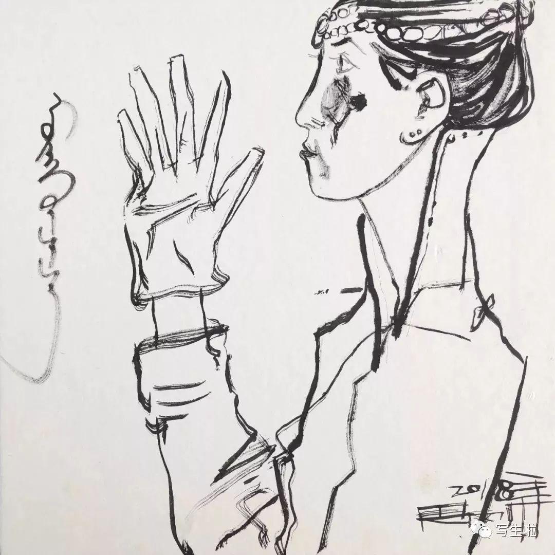 【写生啦】国美教授周刚内蒙古最新写生作品 第21张