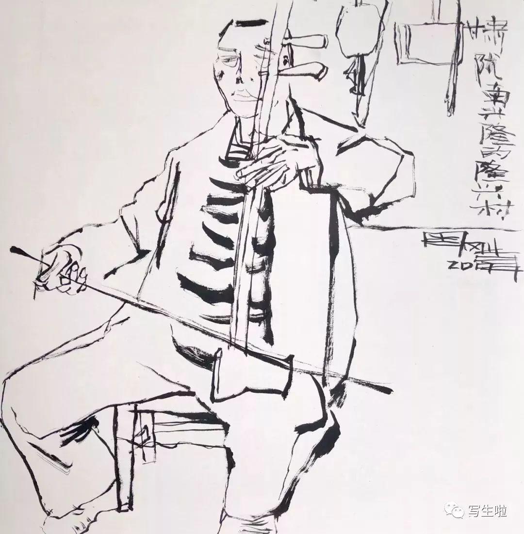 【写生啦】国美教授周刚内蒙古最新写生作品 第25张