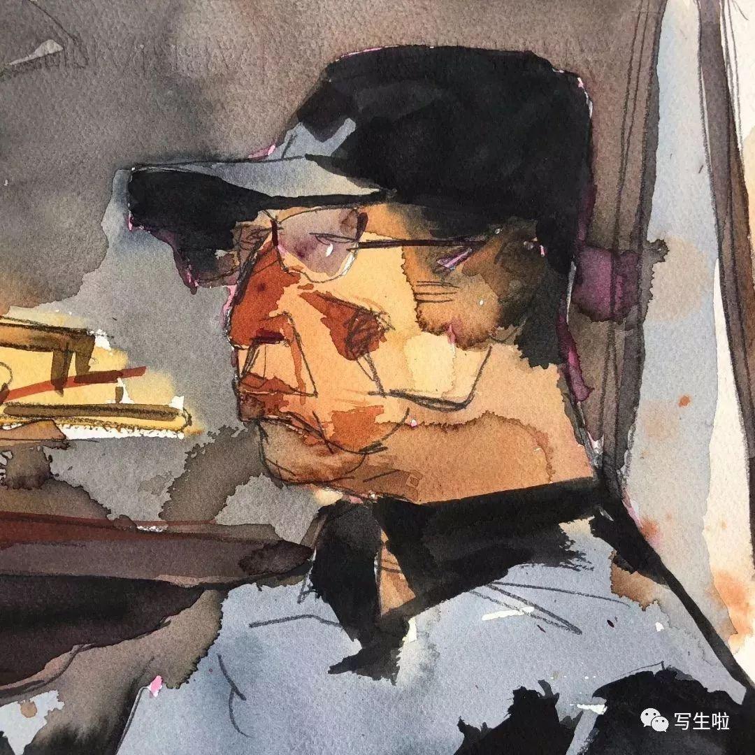 【写生啦】国美教授周刚内蒙古最新写生作品 第31张