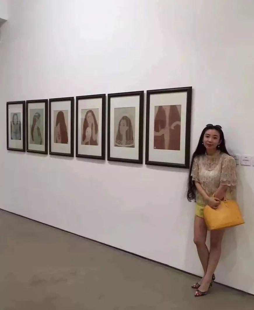母亲节 | 美女画家敖登高娃自述:画画,我所欲也;养娃,亦我所欲也。 第1张