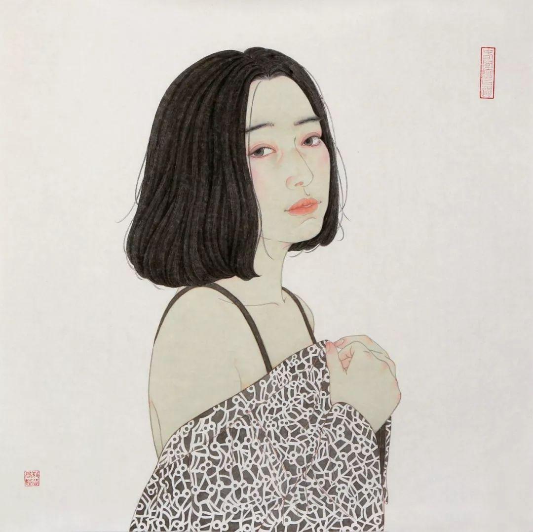 母亲节 | 美女画家敖登高娃自述:画画,我所欲也;养娃,亦我所欲也。 第4张