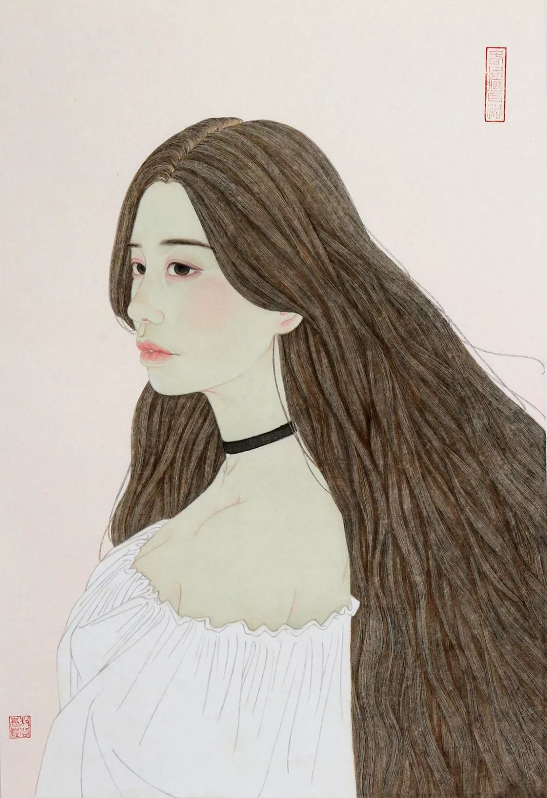 母亲节 | 美女画家敖登高娃自述:画画,我所欲也;养娃,亦我所欲也。 第6张