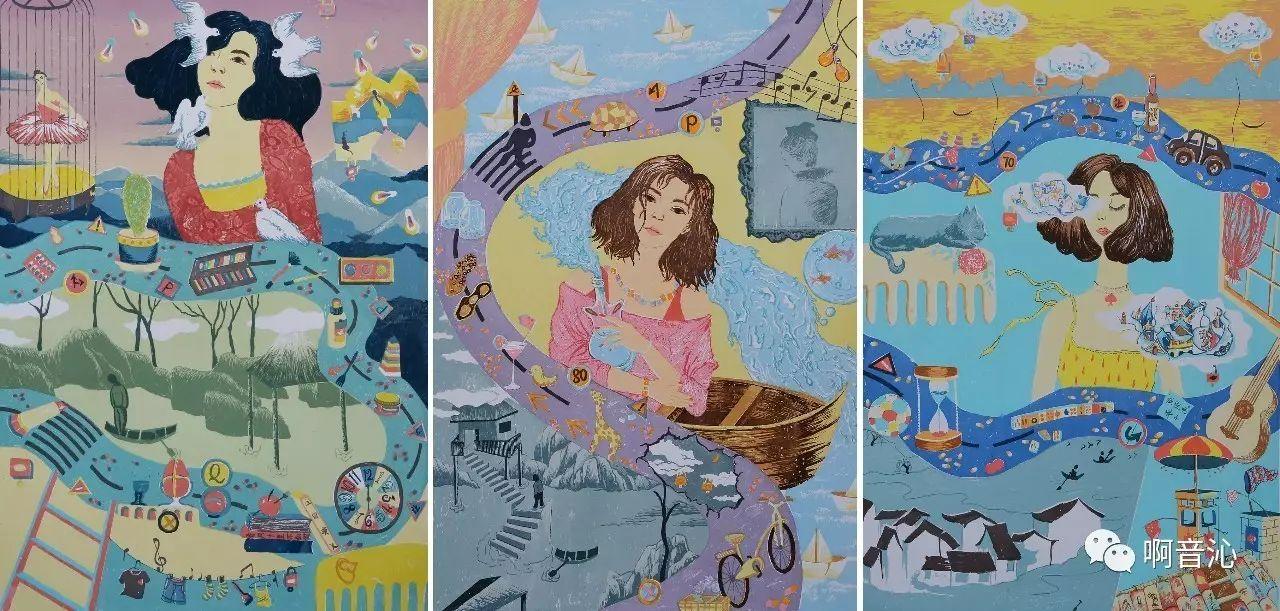 内蒙古艺术学院美术系2017届绘画(版画)专业本科毕业作品展 第8张