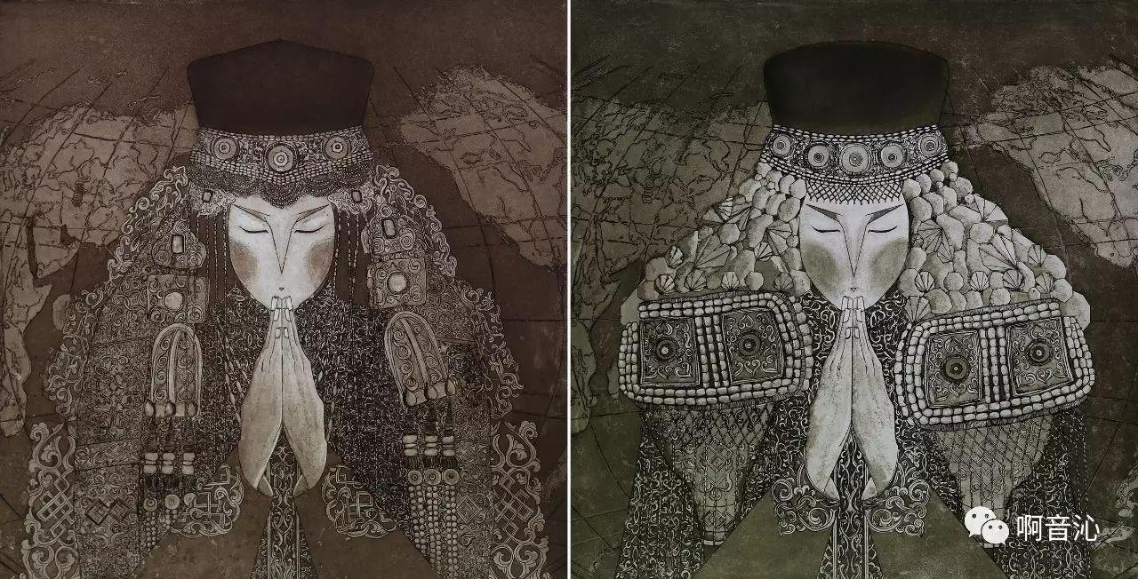 内蒙古艺术学院美术系2017届绘画(版画)专业本科毕业作品展 第7张