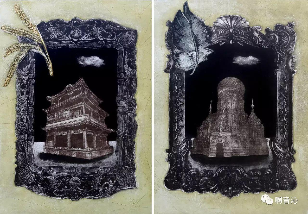 内蒙古艺术学院美术系2017届绘画(版画)专业本科毕业作品展 第9张
