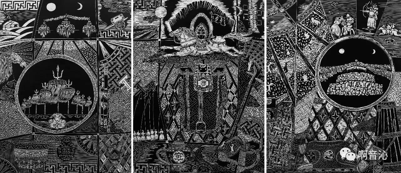 内蒙古艺术学院美术系2017届绘画(版画)专业本科毕业作品展 第10张