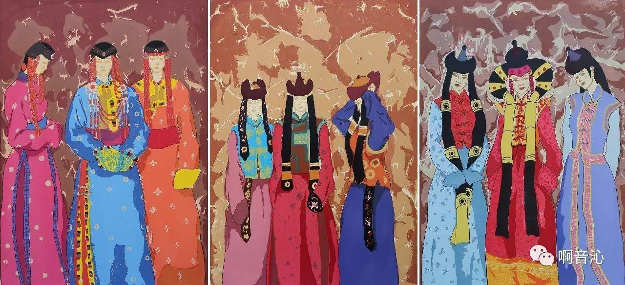 内蒙古艺术学院美术系2017届绘画(版画)专业本科毕业作品展 第17张