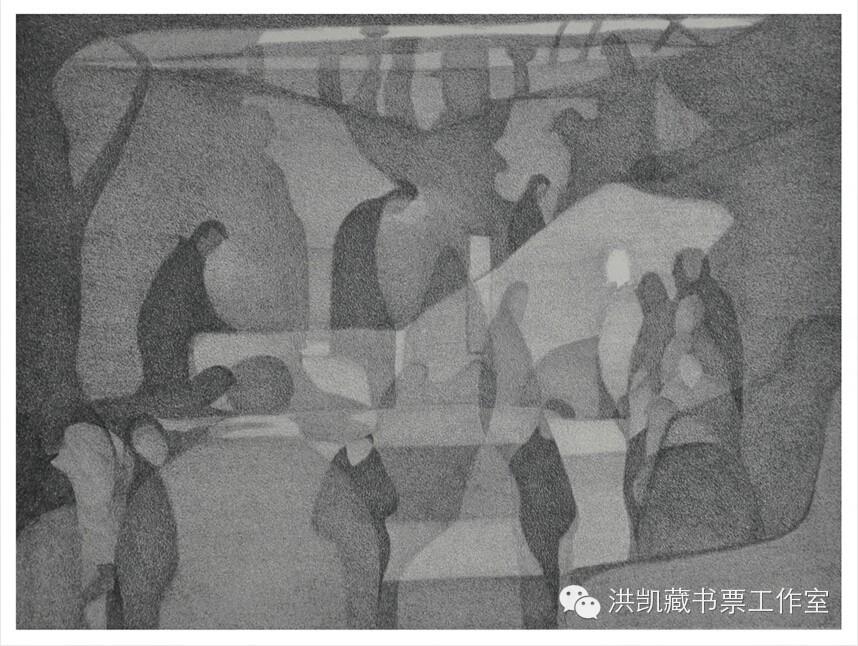 (青年版画家)包岚▪版画藏书票作品欣赏 第19张