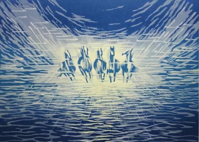 🔴内蒙古著名版画家乌恩琪-山丹的作品 第6张