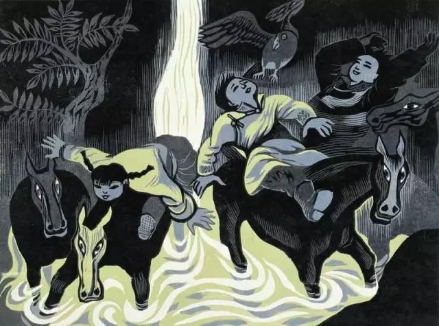🔴内蒙古著名版画家乌恩琪-山丹的作品 第10张
