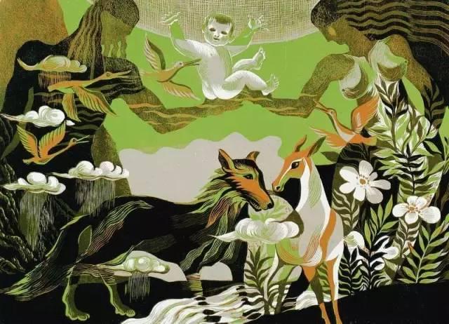 🔴内蒙古著名版画家乌恩琪-山丹的作品 第15张