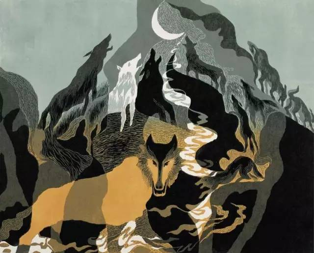 🔴内蒙古著名版画家乌恩琪-山丹的作品 第14张