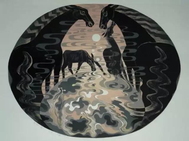 🔴内蒙古著名版画家乌恩琪-山丹的作品 第28张