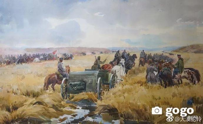 【美图】蒙古国各个时期的经典美术作品展拾萃 第1张