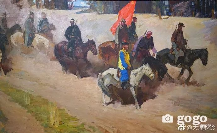 【美图】蒙古国各个时期的经典美术作品展拾萃 第3张