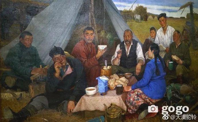 【美图】蒙古国各个时期的经典美术作品展拾萃 第8张