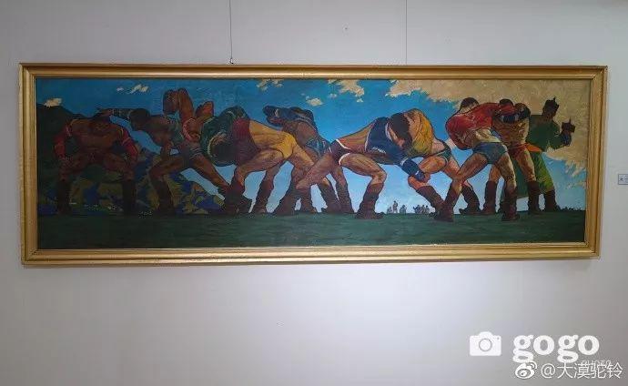 【美图】蒙古国各个时期的经典美术作品展拾萃 第7张