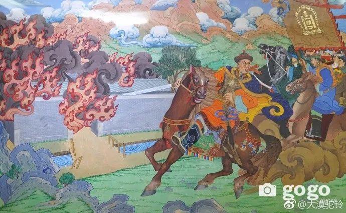 【美图】蒙古国各个时期的经典美术作品展拾萃 第11张