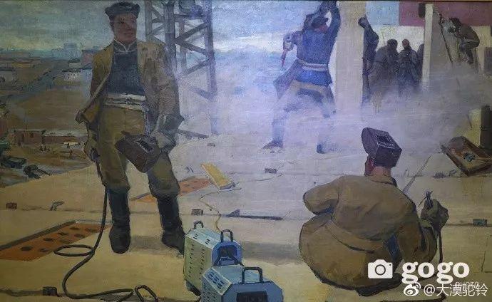 【美图】蒙古国各个时期的经典美术作品展拾萃 第15张