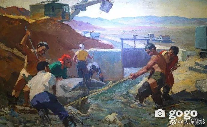【美图】蒙古国各个时期的经典美术作品展拾萃 第14张