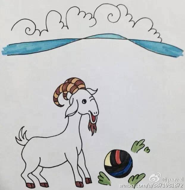 蒙古孩子简笔画 第14张